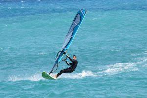 Windsurfen in Friesland